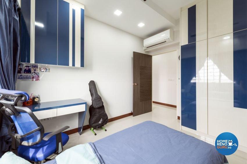 Minimalist, Modern Design - Bedroom - HDB 5 Room - Design by Posh Living Interior Design Pte Ltd