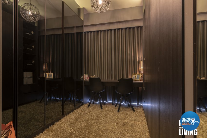 Contemporary, Modern, Resort Design - Bedroom - Condominium - Design by Posh Living Interior Design Pte Ltd