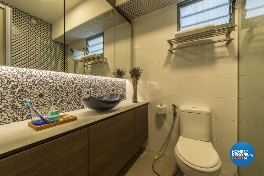 Modern, Scandinavian Design - Bathroom - HDB 5 Room - Design by Posh Living Interior Design Pte Ltd