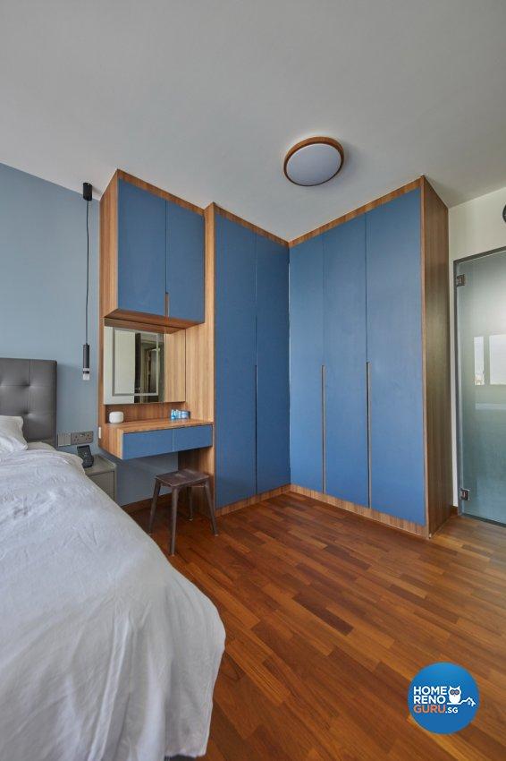 Contemporary, Modern Design - Bedroom - HDB 5 Room - Design by PRDT Pte Ltd