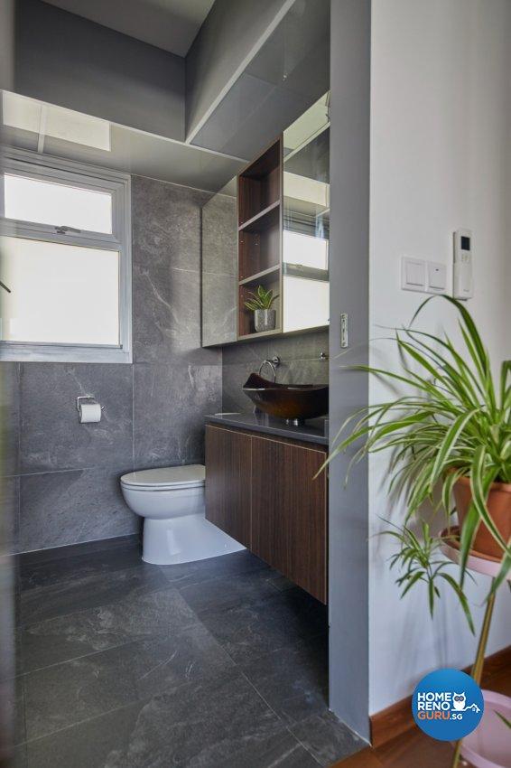 Contemporary, Modern Design - Bathroom - HDB 5 Room - Design by PRDT Pte Ltd