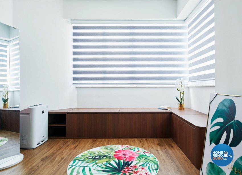 Contemporary, Eclectic, Modern Design - Balcony - HDB 5 Room - Design by Productions Pte Ltd
