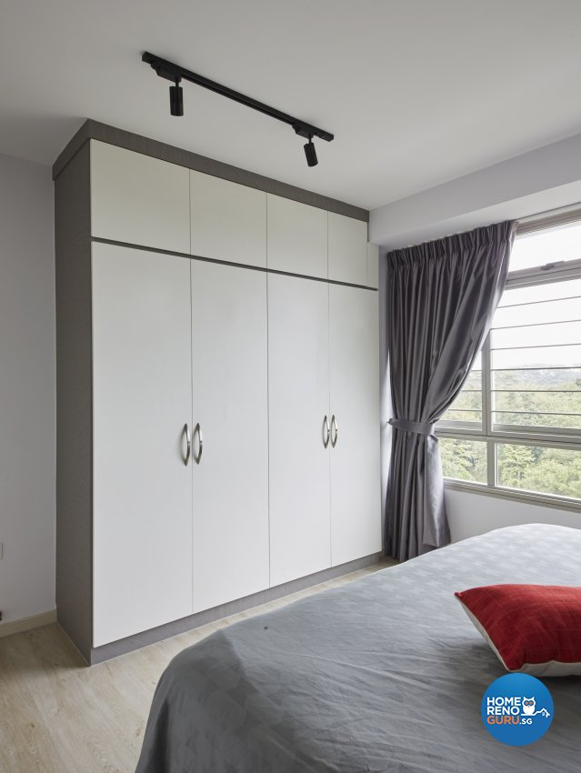 Contemporary, Modern Design - Bedroom - HDB 4 Room - Design by Productions Pte Ltd
