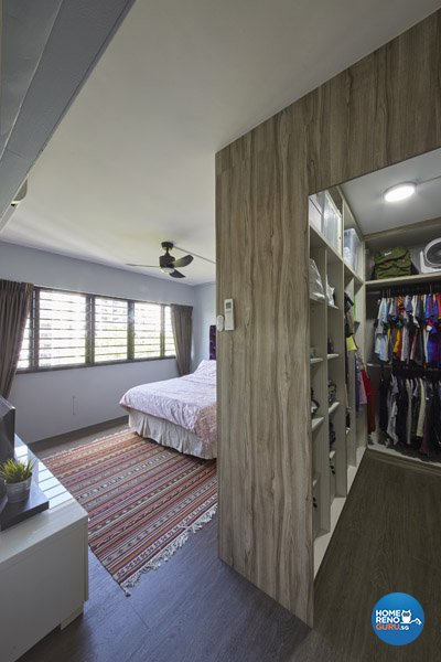 Contemporary, Modern Design - Bedroom - HDB Executive Apartment - Design by Productions Pte Ltd