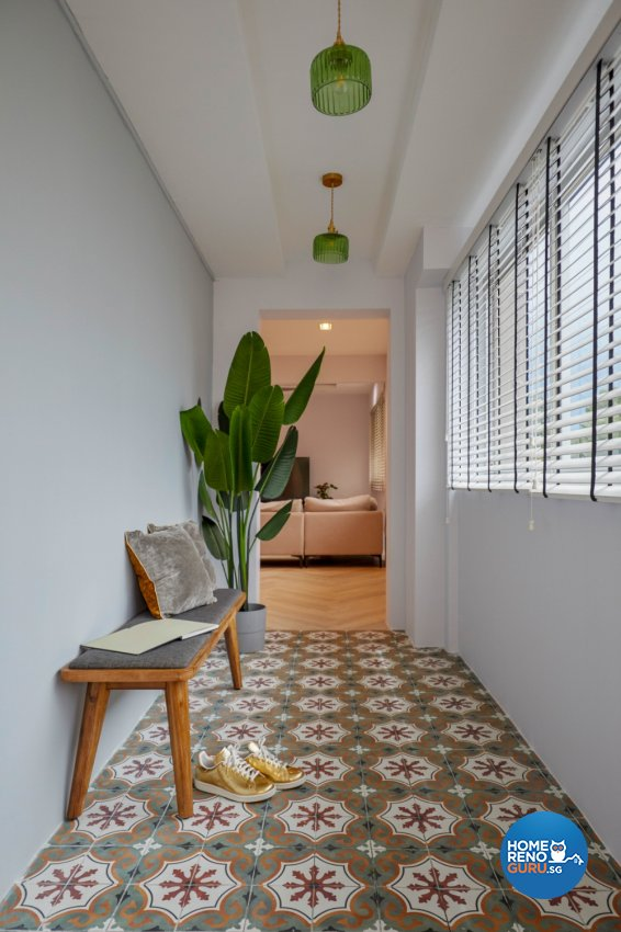 Minimalist, Modern Design - Living Room - HDB Executive Apartment - Design by PRDT Pte Ltd