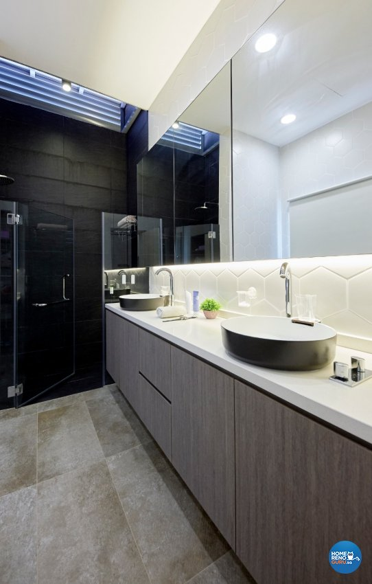 Classical, Contemporary, Modern Design - Bathroom - Landed House - Design by Productions Pte Ltd