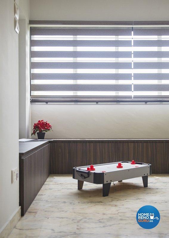 Contemporary, Modern, Scandinavian Design - Balcony - HDB 5 Room - Design by Productions Pte Ltd