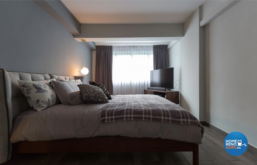 Eclectic, Industrial, Modern Design - Bedroom - HDB 3 Room - Design by Productions Pte Ltd