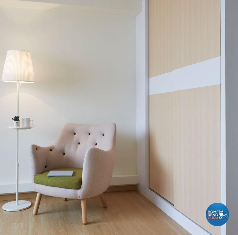 Eclectic, Modern, Scandinavian Design - Study Room - HDB 5 Room - Design by Productions Pte Ltd