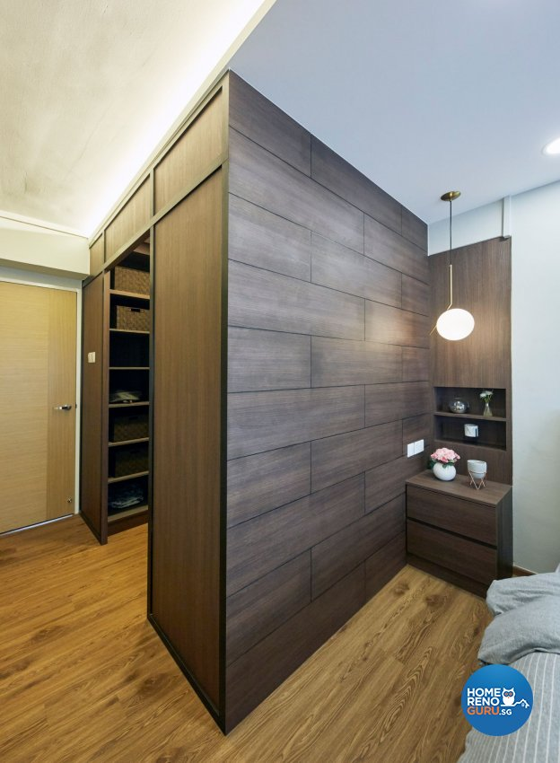 Contemporary, Modern, Scandinavian Design - Bedroom - HDB 5 Room - Design by Productions Pte Ltd