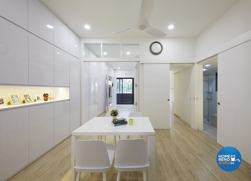 Classical, Minimalist, Modern Design - Dining Room - Condominium - Design by Productions Pte Ltd