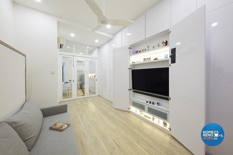 Classical, Minimalist, Modern Design - Living Room - Condominium - Design by Productions Pte Ltd
