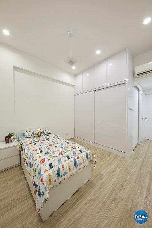 Classical, Minimalist, Modern Design - Bedroom - Condominium - Design by Productions Pte Ltd