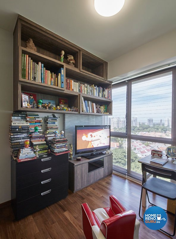 Classical, Contemporary Design - Study Room - Condominium - Design by Productions Pte Ltd