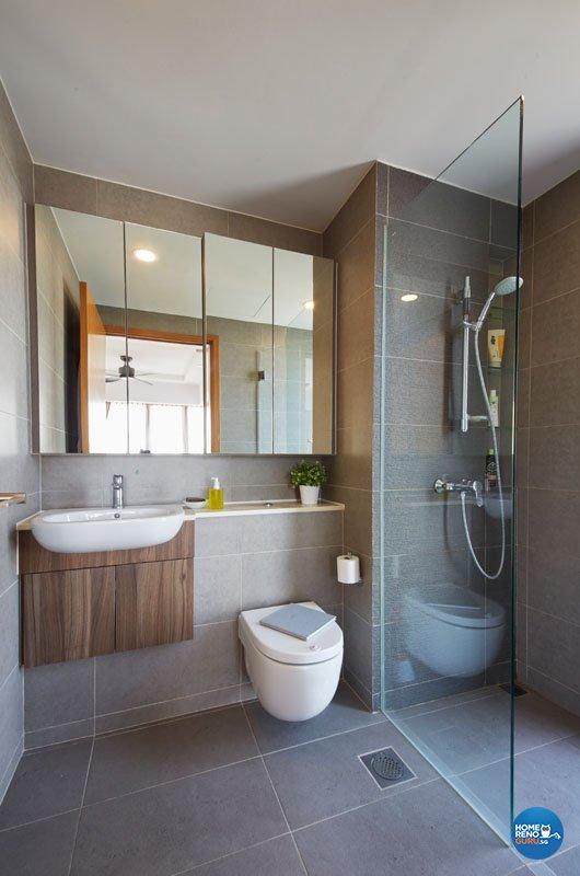 Classical, Contemporary Design - Bathroom - Condominium - Design by Productions Pte Ltd