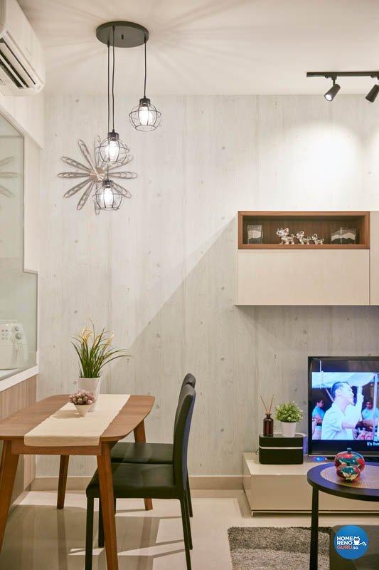 Contemporary, Modern Design - Dining Room - Condominium - Design by Productions Pte Ltd