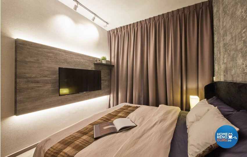 Contemporary, Modern Design - Bedroom - Condominium - Design by Productions Pte Ltd