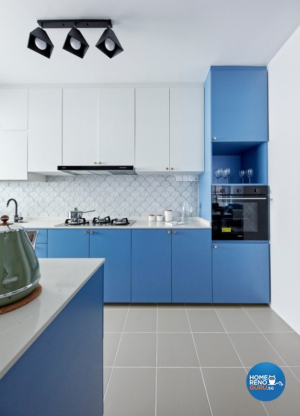 Eclectic, Modern, Scandinavian Design - Kitchen - HDB 4 Room - Design by Productions Pte Ltd