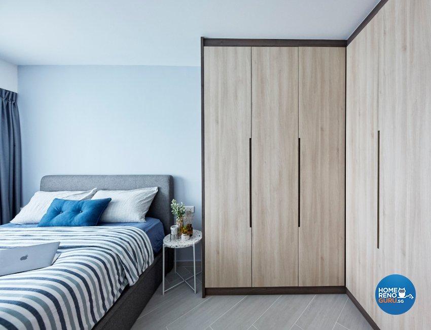 Eclectic, Modern, Scandinavian Design - Bedroom - HDB 4 Room - Design by Productions Pte Ltd