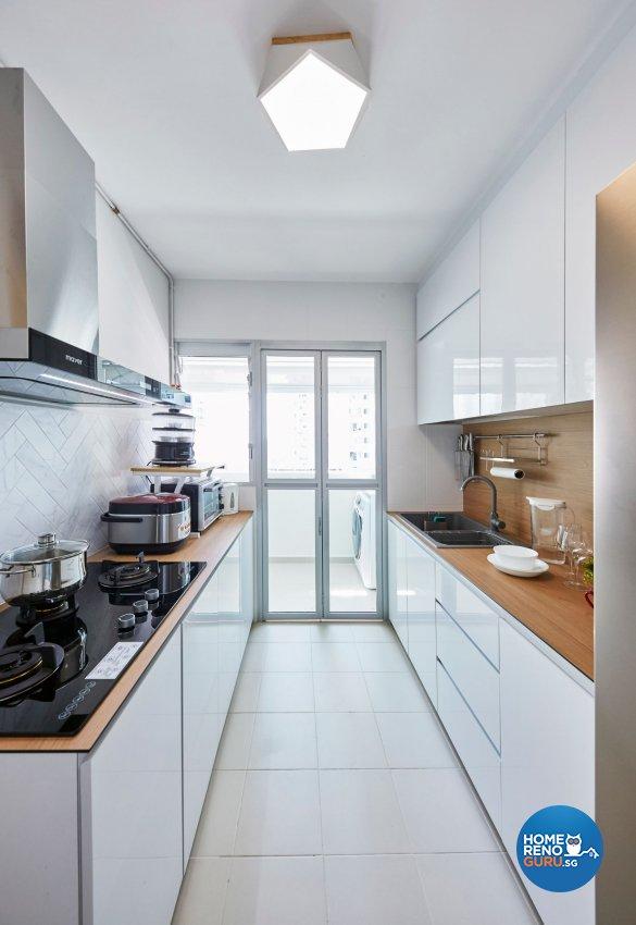 Classical, Minimalist, Modern Design - Kitchen - HDB 4 Room - Design by PRDT Pte Ltd