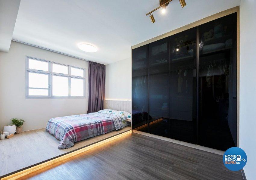 Classical, Minimalist, Modern Design - Bedroom - HDB 4 Room - Design by PRDT Pte Ltd