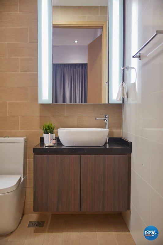 Contemporary, Modern Design - Bathroom - Condominium - Design by Productions Pte Ltd