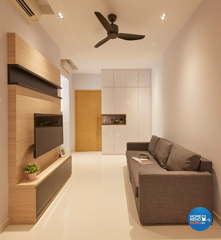 Contemporary, Modern Design - Living Room - Condominium - Design by Productions Pte Ltd