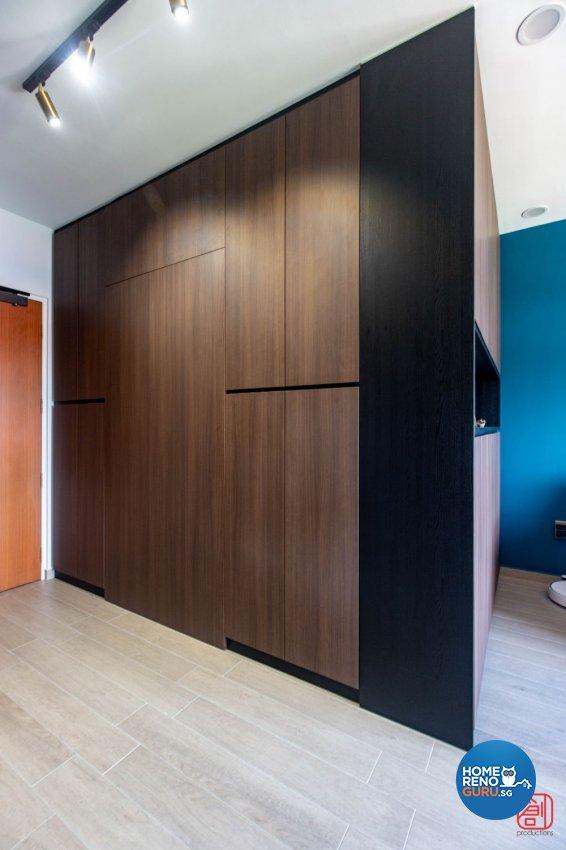 Contemporary, Modern, Scandinavian Design - Living Room - HDB 4 Room - Design by Productions Pte Ltd