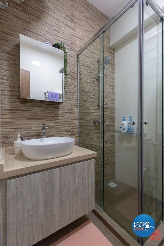 Contemporary, Modern, Scandinavian Design - Bathroom - HDB 4 Room - Design by Productions Pte Ltd
