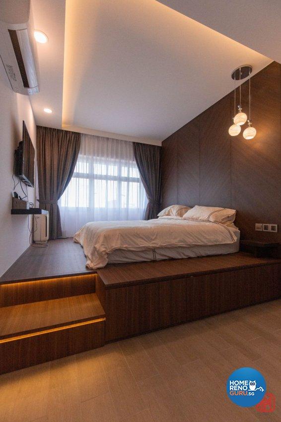 Contemporary, Modern, Scandinavian Design - Bedroom - HDB 4 Room - Design by Productions Pte Ltd