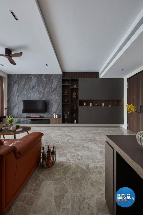 Classical, Contemporary, Modern Design - Living Room - Condominium - Design by Productions Pte Ltd
