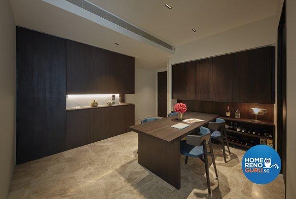 Contemporary, Modern, Scandinavian Design - Dining Room - Condominium - Design by Productions Pte Ltd