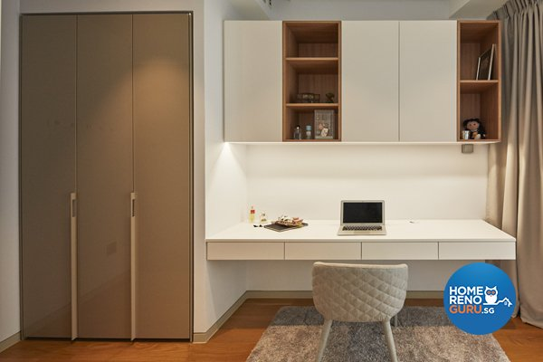 Contemporary, Modern, Scandinavian Design - Bedroom - Condominium - Design by Productions Pte Ltd