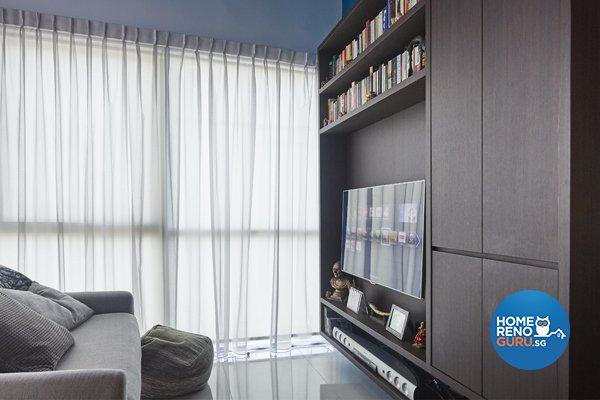 Contemporary, Eclectic Design - Living Room - Condominium - Design by Productions Pte Ltd