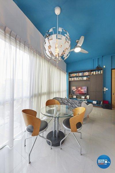 Contemporary, Eclectic Design - Dining Room - Condominium - Design by Productions Pte Ltd
