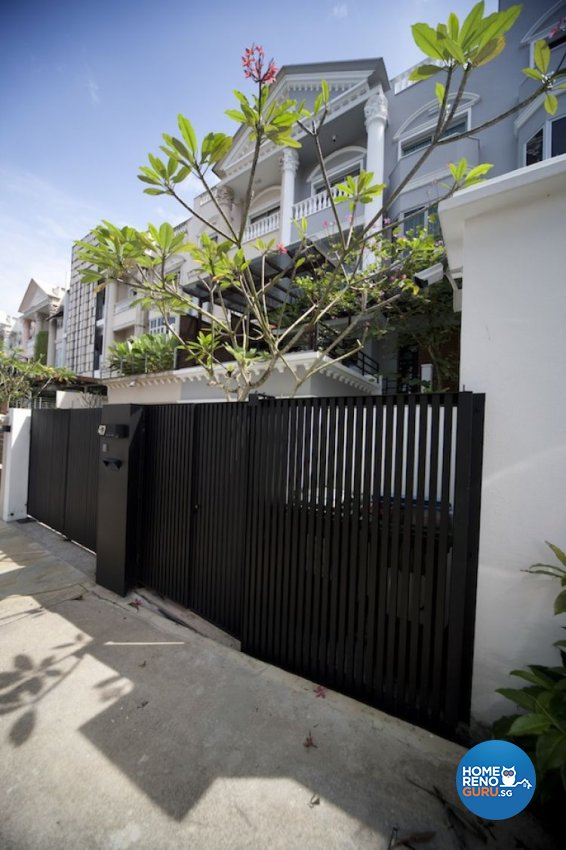 Contemporary, Industrial Design - Balcony - Landed House - Design by Project File Pte Ltd