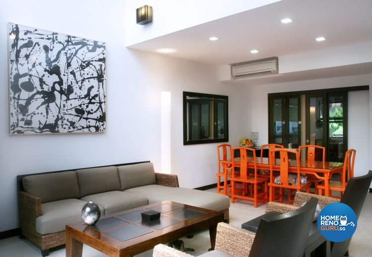 Contemporary, Modern, Scandinavian Design - Living Room - Landed House - Design by Project I Pte Ltd