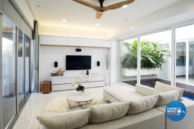 Contemporary, Minimalist, Scandinavian Design - Living Room - Landed House - Design by Project I Pte Ltd
