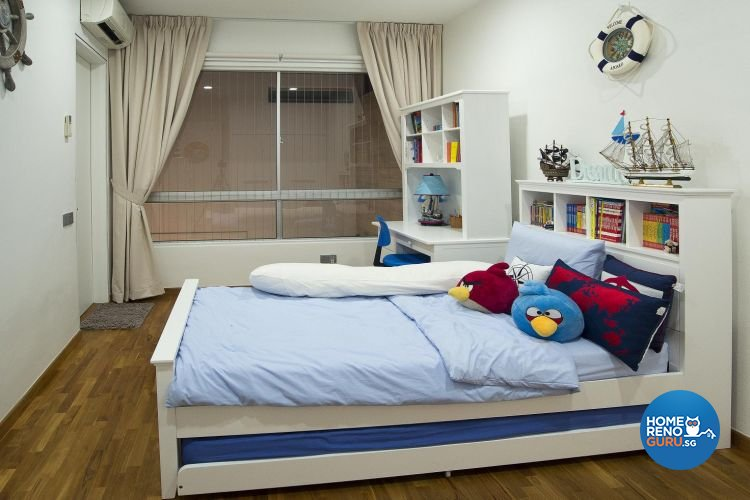 Contemporary, Minimalist, Scandinavian Design - Bedroom - Landed House - Design by Project I Pte Ltd