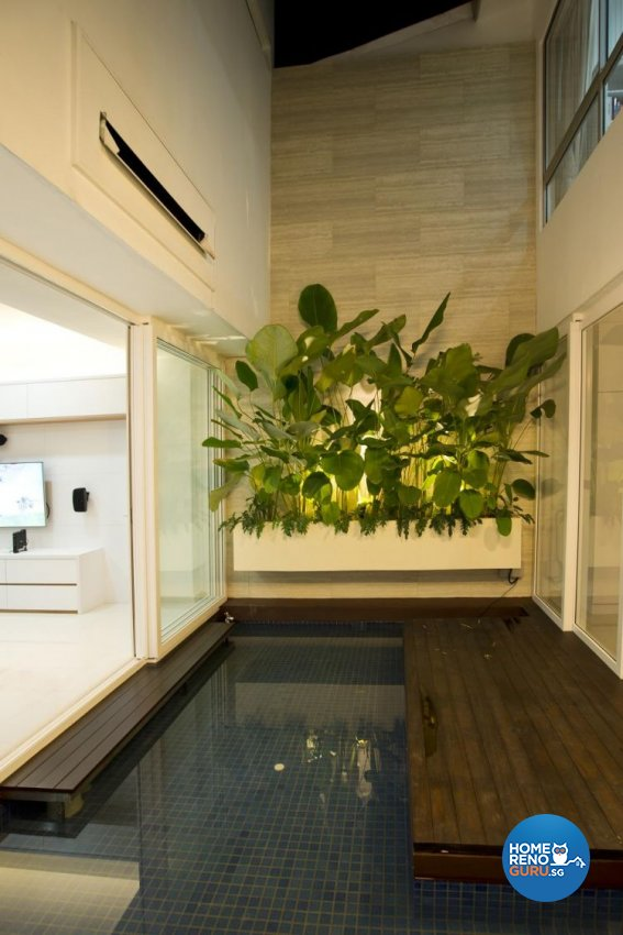 Contemporary, Minimalist, Scandinavian Design - Balcony - Landed House - Design by Project I Pte Ltd