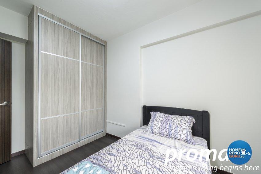 Resort Design - Bedroom - HDB 4 Room - Design by Promax Design Pte Ltd
