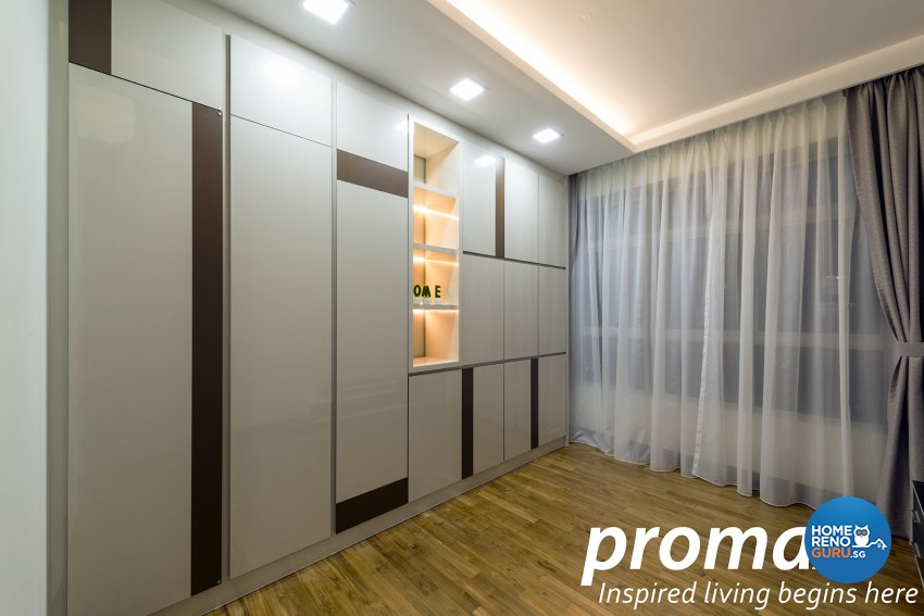 Modern Design - Bedroom - HDB 5 Room - Design by Promax Design Pte Ltd