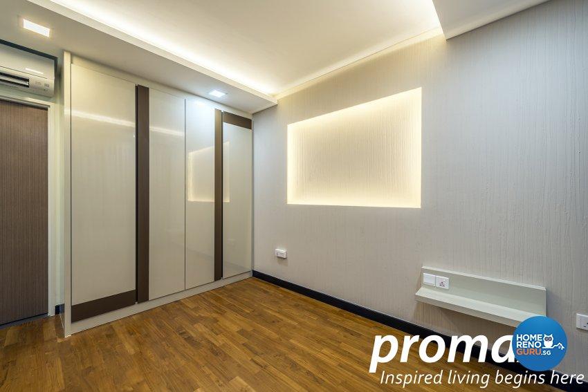 Modern Design - Bedroom - HDB 5 Room - Design by Promax Design Pte Ltd