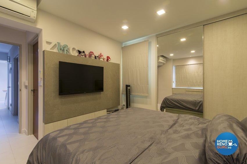 Contemporary Design - Bedroom - HDB 4 Room - Design by Promax Design Pte Ltd