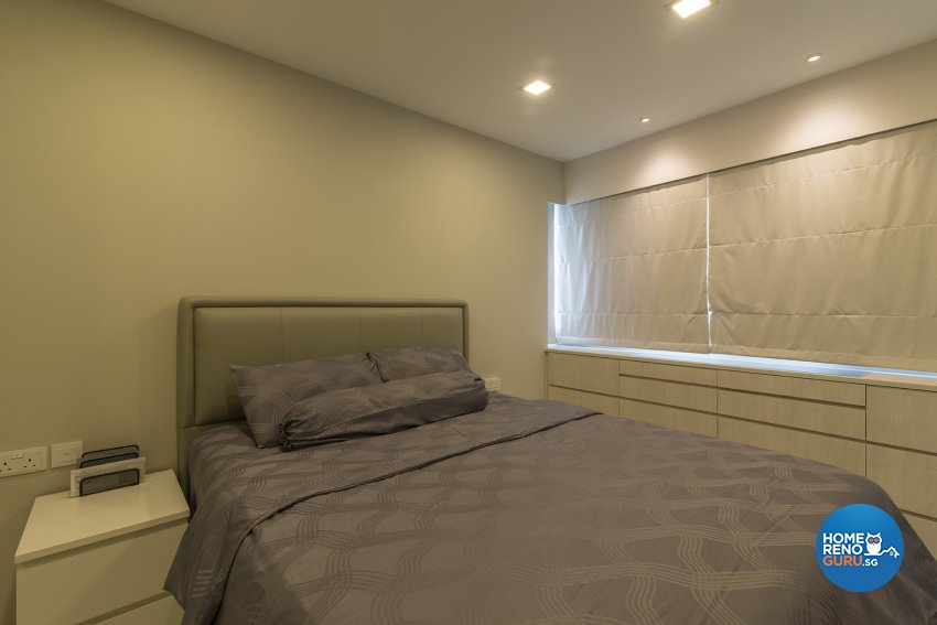 Contemporary Design - Bedroom - HDB 4 Room - Design by Promax Design Pte Ltd
