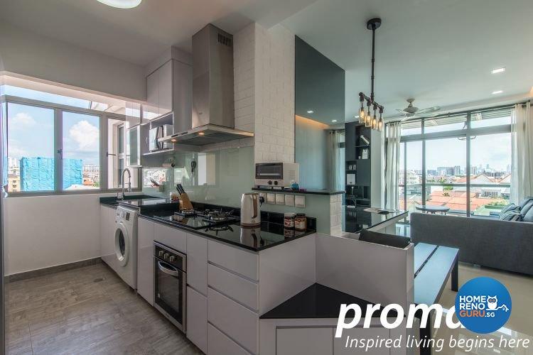 Contemporary, Minimalist Design - Kitchen - Condominium - Design by Promax Design Pte Ltd