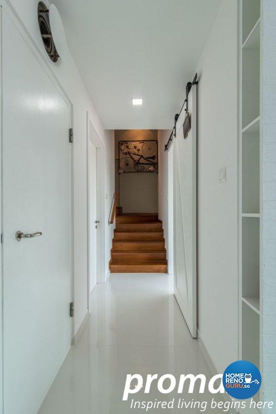 Contemporary, Minimalist Design - Study Room - Condominium - Design by Promax Design Pte Ltd