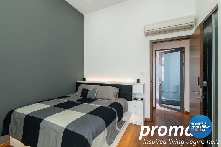 Contemporary, Minimalist Design - Bedroom - Condominium - Design by Promax Design Pte Ltd