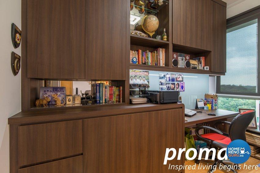 Classical, Modern Design - Study Room - Condominium - Design by Promax Design Pte Ltd