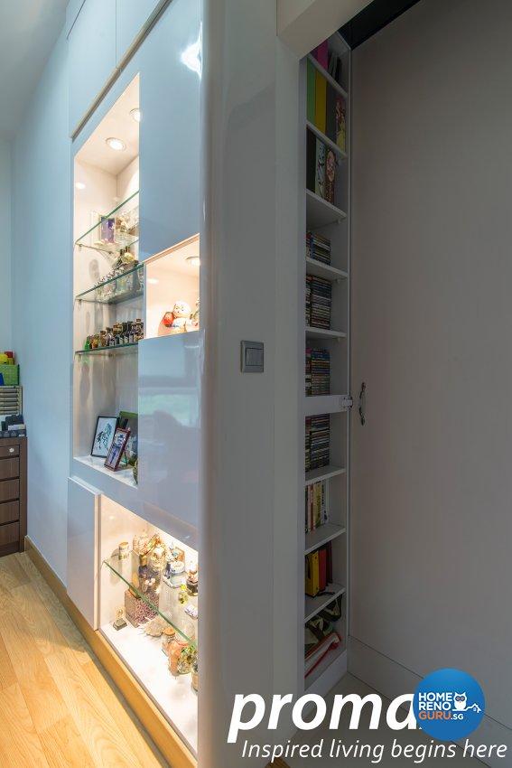 Classical, Modern Design - Living Room - Condominium - Design by Promax Design Pte Ltd